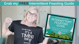 What I Eat In A Day |  Intermittent Fasting for Today's Aging Woman