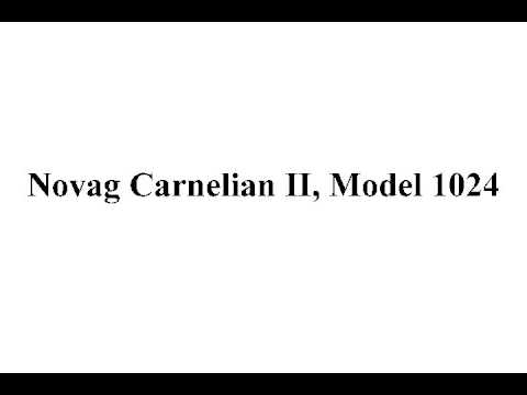 Novag Carnelian II, Model 1024 - 3 Year Warranty