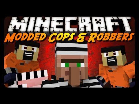 Minecraft: COPS ROBBERS w MORPH MOD