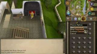 RuneScape - Getting Ammo Mould & Making Cannon Balls!