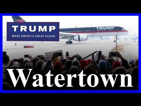 LIVE Donald Trump Watertown New York FULL SPEECH in HD STREAM ✔
