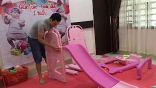 Mua cầu trượt cho bé