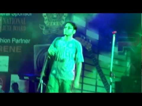 Anupam Roy live @ Recstasy 2k12 with