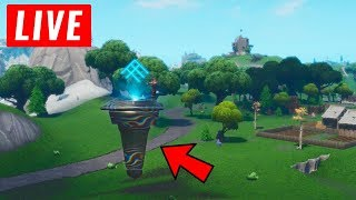 *NEW* LOOT LAKE EVENT HAPPENING RIGHT NOW! (Fortnite Season 8 Live Event) Cube EVENT!