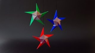 Christmas Origami Instructions: Star 'hilli' (klaus-dieter Ennen)