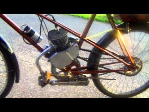 Rower z Silnikiem (własno dzielna robota)