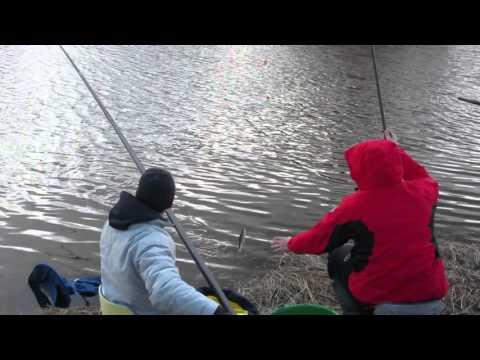 подводная рыбалка ранней весной