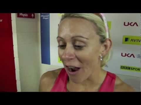 Diamond League Birmingham - Jenny Meadows