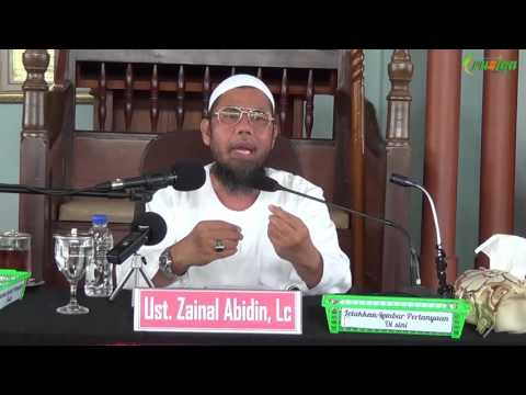 Ust. Zainal Abidin - Bom Waktu Rumah Tangga