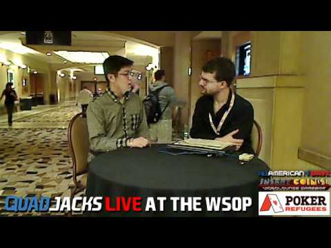Naoya Kihara first bracelet winner from Japan QuadJacks Live at the WSOP June 22, 2012