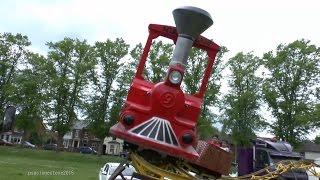 Mine Train Roller Coaster, Butts Close, Hitchin  Fun Fair 2015.
