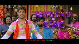 Abhay Singh Ki Gang | Sidharth Malhotra, Parineeti Chopra | Jabariya Jodi | 2nd Aug