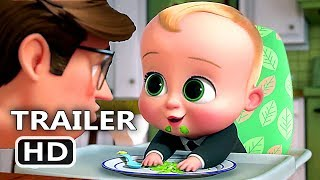 BOSS BABY Back in Business Trailer EXTENDED # 2 (NEW 2018) Netflix, Animation HD