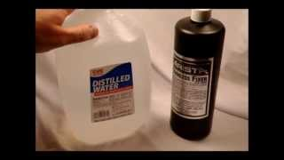 How to mix Film Fixer Working Solution from Liquid Concentrate