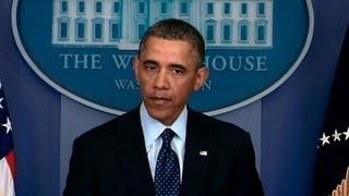 President Obama Makes a Statement on Resolving the Sequester