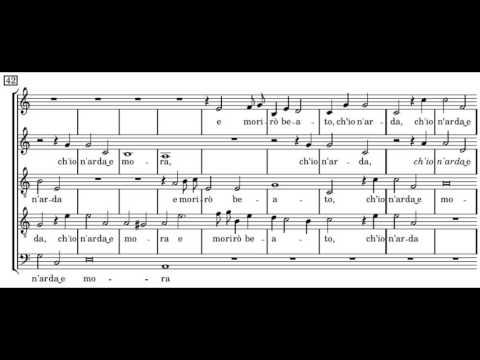 Монтеверди Клаудио - Longe da te, cor mio