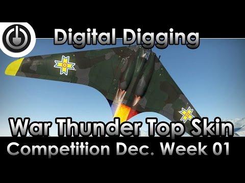 War Thunder Top Skin Competition December Week 01.