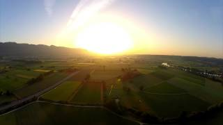 FPV flying - Sunrise