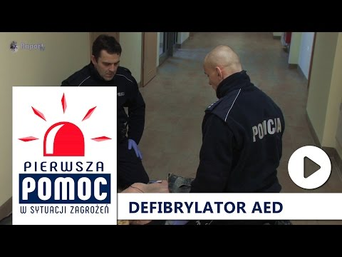 Pierwsza Pomoc: Defibrylator AED + Schemat BLS