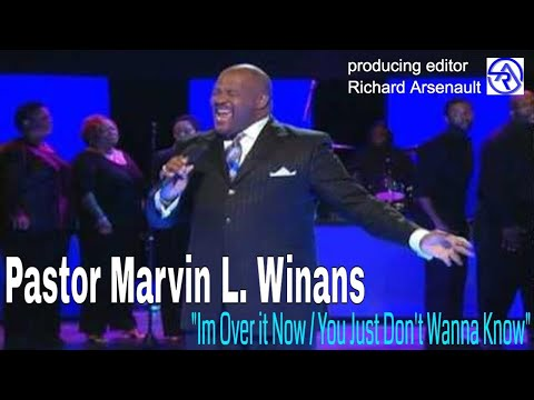 ✝ Bishop Marvin Winans sings  I'm Over it Now ✝