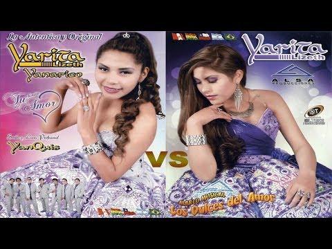 ♫♥☆ YARITA LIZETH YANARICO VS YARITA LIZETH - AMIGO ¿Quién canta mejor? ☆♥♫