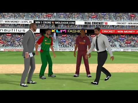 1st August T20 West Indies Vs Bangladesh Full Match Highlights Real Cricket 2018 aNdroid Gameplay