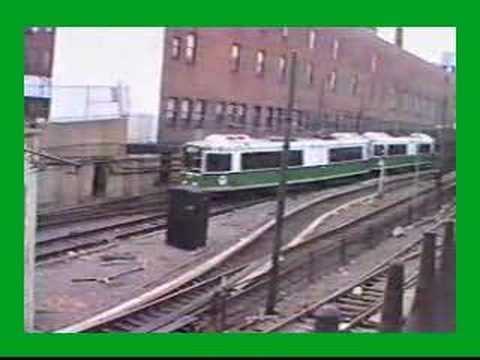 MBTA LRV & Type 7 Trolleys in Boston