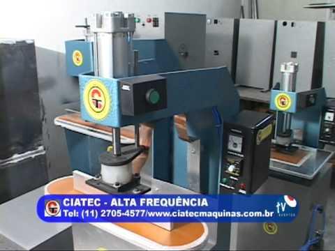 Mat ria ciatec maquinas maquinas solda eletronica youtube for Maquinas para toldos enrollables