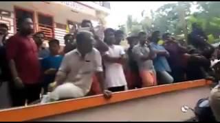 CPIM protest in Kannur