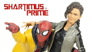 Marvel Legends Spider-Man & MJ Homecoming Movie 2-Pack Target Exclusive MCU Action Figure Toy Review