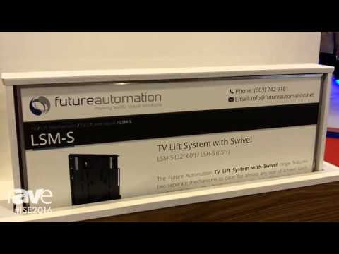 ISE 2016: Future Automation Demonstrates the Capabilities of the LSM-S Media Lift System with Swivel