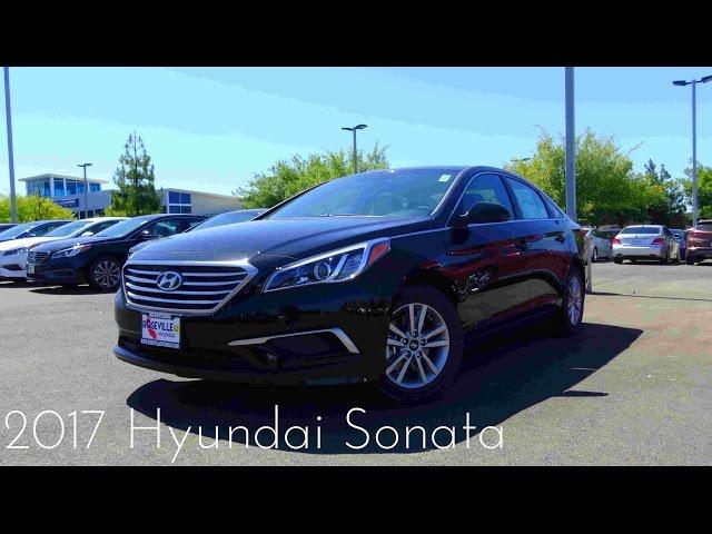2017 Hyundai Sonata SE 2.4 L 4-Cylinder Review - YouTube