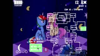 [MLP:FiM] Five Nights in Equestria v1.0 (Night 1) [Gameplay]