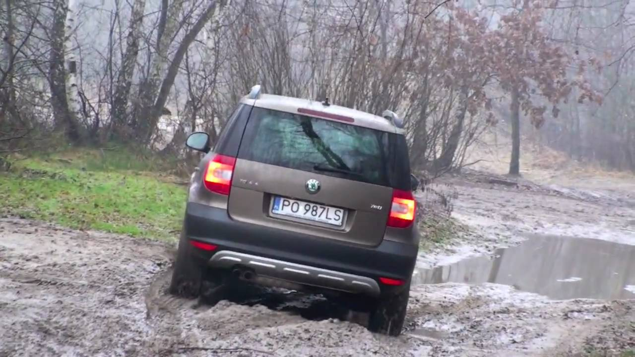 skoda yeti 2 0 tdi 140 km 4x4 experience w terenie youtube. Black Bedroom Furniture Sets. Home Design Ideas