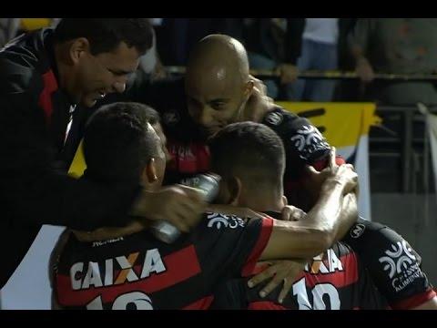 Gols, Criciúma 1 x 2 Atlético-GO – Brasileirão Série B 22/10/2016