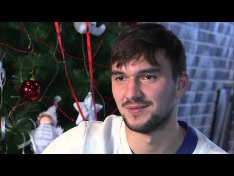 """Якуб Коварж - новогоднее интервью в эфире """"Матч ТВ"""""""
