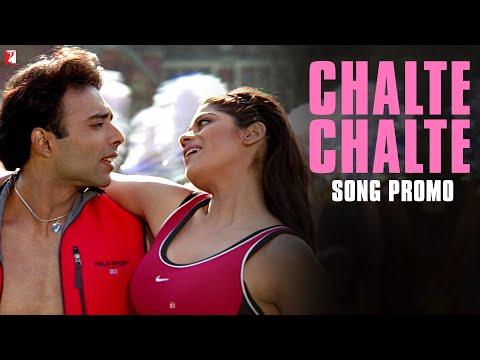 Chalte Chalte - Song Promo - Mohabbatein