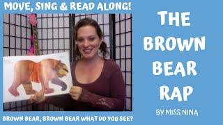 Children's Music/Book: Brown Bear Rap (