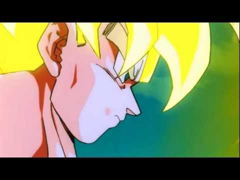 DragonBall Z- Goku Turns Super Saiyan Against Meta-Cooler HD