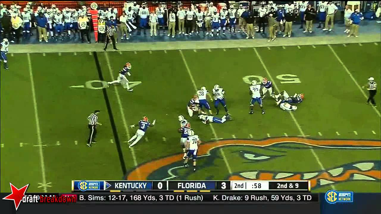 Dante Fowler Jr. vs Kentucky (2014)
