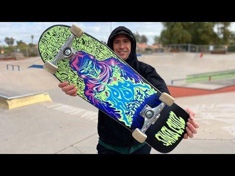 TOM KNOX FIREPIT REISSUE PRODUCT CHALLENGE! | Santa Cruz Skateboards
