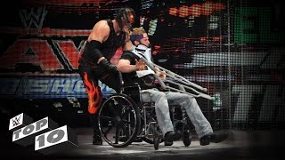 Injured Superstars Getting Crushed: WWE Top 10
