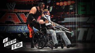 Injured Superstars Getting Crushed: WWE Top 10