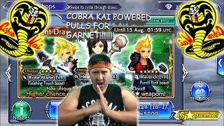 Dissidia Final Fantasy: Opera Omnia COBRA KAI POWERED PULLS FOR GARNET!!!