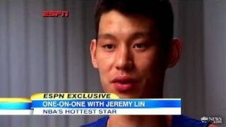Jeremy Lin ESPN Interview_ Discusses His Race, Fans Wearing His Jersey and Kim Kardashian
