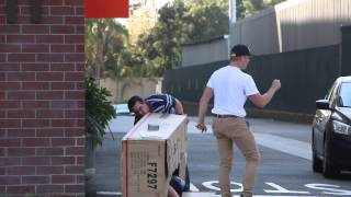 Dead Body Delivery Prank- Jake Paul