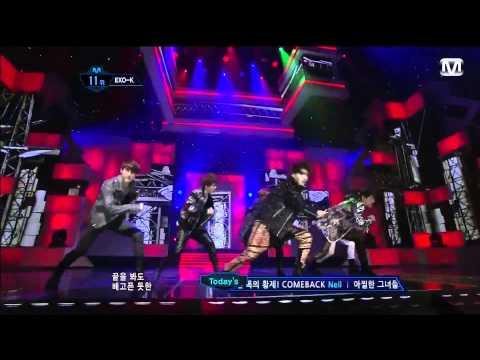 Exo-k-mama Live [歌詞認人版] video