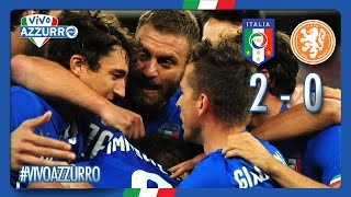 Highlights: Italia-Olanda 2-0 (4 settembre 2014)