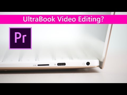 Dell XPS 13 Video Editing REVIEW 2018 9370 Can it Edit 4k?