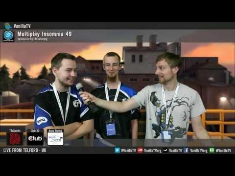 VanillaTV - i49 - HRG vs TCM - Lower Final - Interview: Jukebox & Ryb